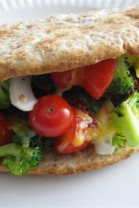 Meals in Minutes — Warm Veggie Wrap
