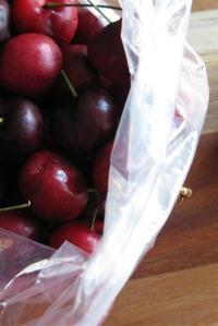 Cherry Custard Tart