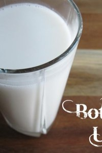 How to Make Coconut Milk {Vegan, Lactose-Free}