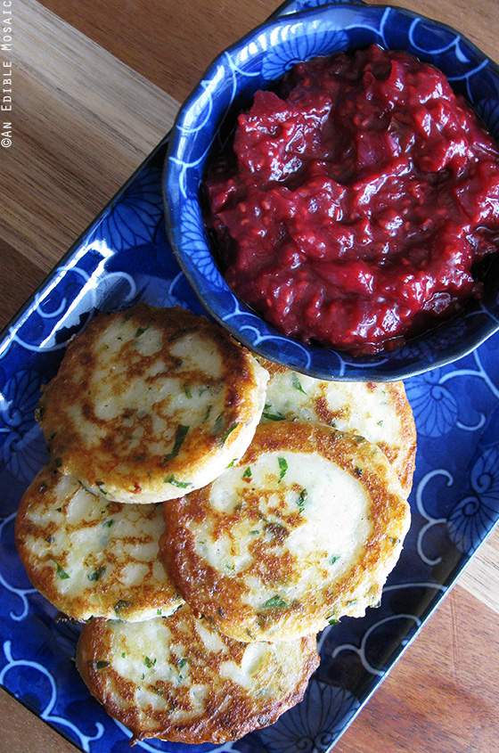 Garlicky Mashed Potato Cakes 2