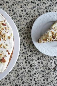 Parsnip Cake with Maple Buttercream Recipe {Cookbook Review: Sweet Magic by Michel Richard}