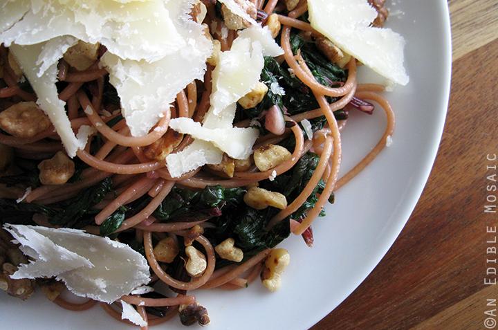 Beet Greens Pasta 2