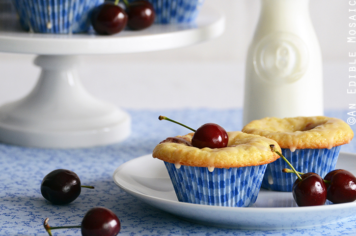 Cherry-Vanilla Cheese Danish Cupcakes 3