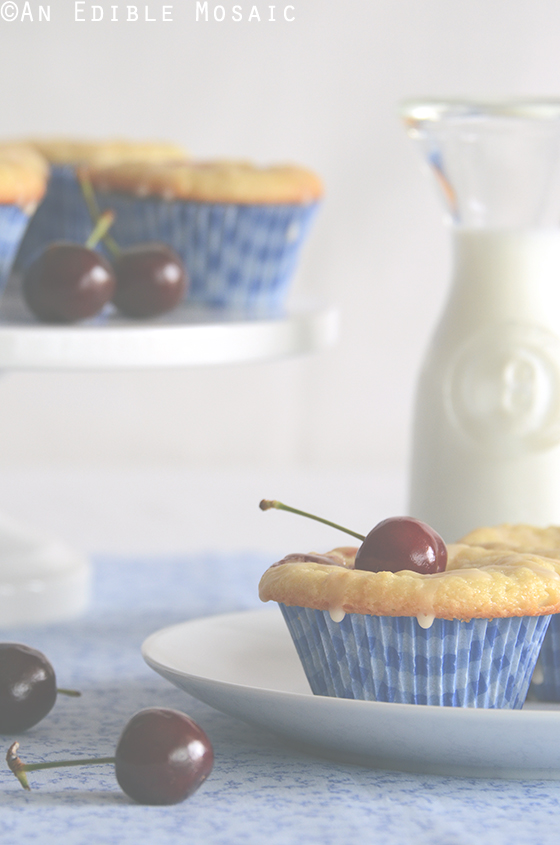 Cherry-Vanilla Cheese Danish Cupcakes