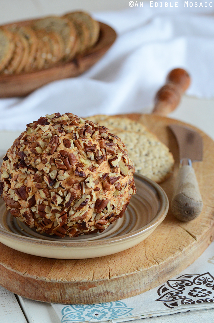 Cheddar Cheese Ball Appetizer (Or Cheddar Pub Spread)