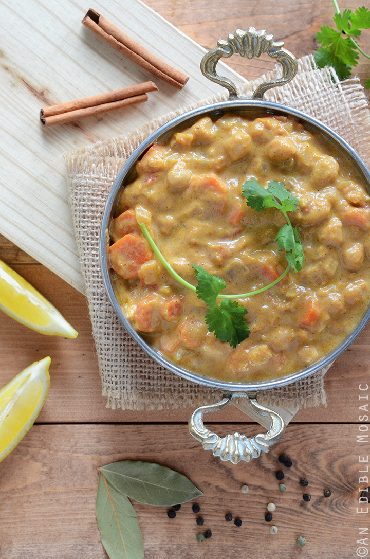 Pumpkin Chickpea Curry 2