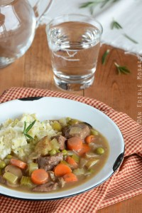 Basic Beef Stew Using Pantry Staples