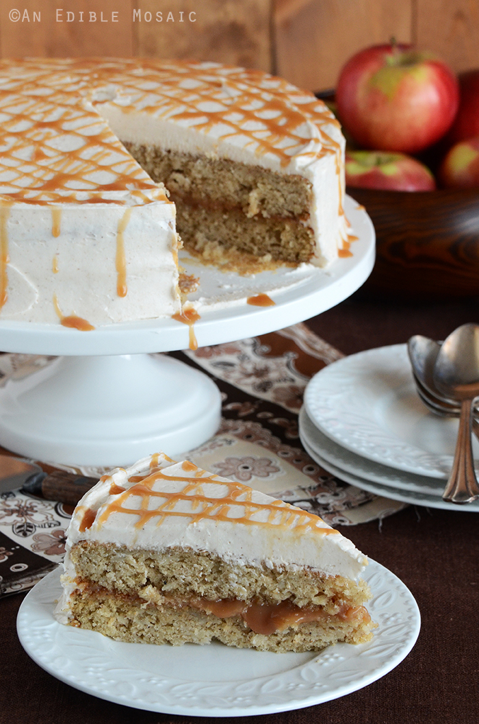Caramel Apple Cake 2