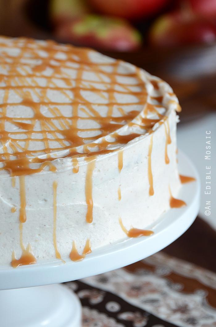 Caramel Apple Cake 3