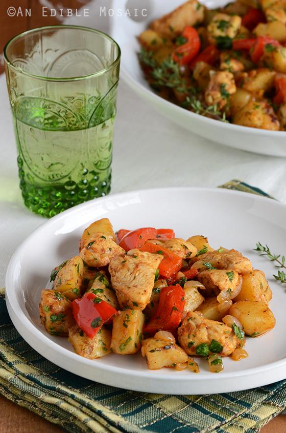 Turkey Vegetable Hash 2