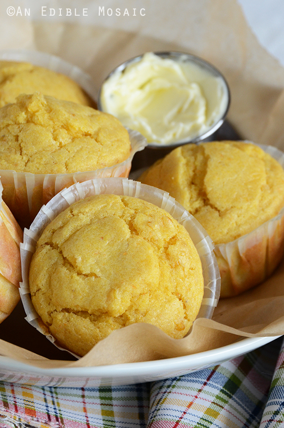 Creamed Corn Cornbread Muffins 2