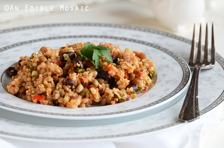 Bean and Barley Salad 3