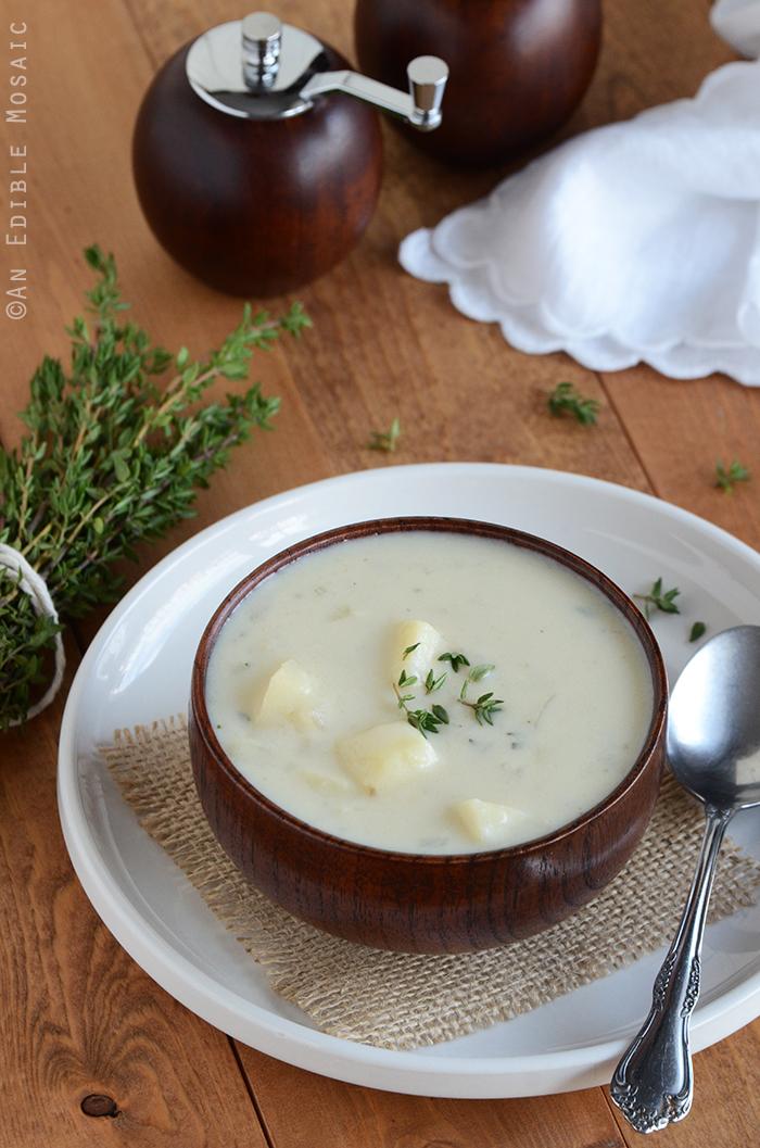 Creamy Potato Onion Soup