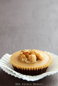 Healthy-Enough-for-Breakfast Chocolate Peanut Butter Cups {Giveaway}