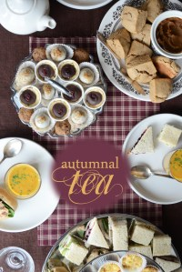 Autumnal Afternoon Tea