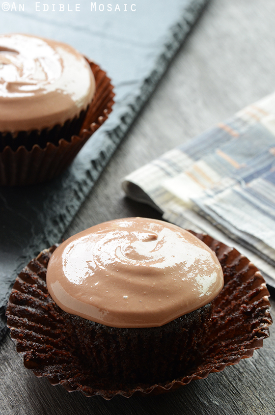 Chocolate Cupcakes for Two {Vegan} 2