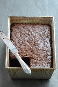 Dark Chocolate Espresso Cake {Happy New Year!}