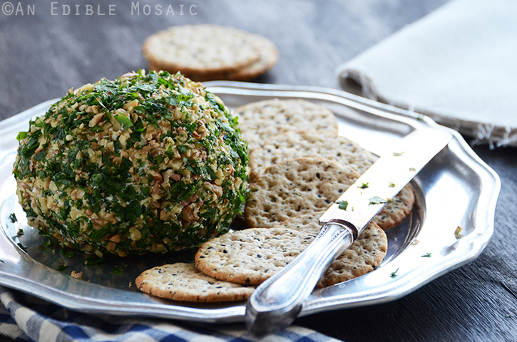 Date, Walnut, and Blue Cheese Ball 3