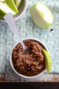 "Cinnamon and Nutmeg Zucchini ""Applesauce"""