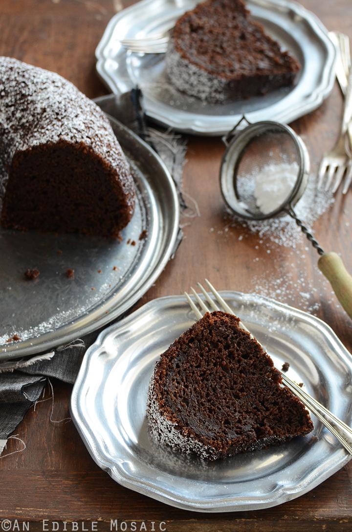 Cinnamon and Orange-Spiced Chocolate Zucchini Cake 1