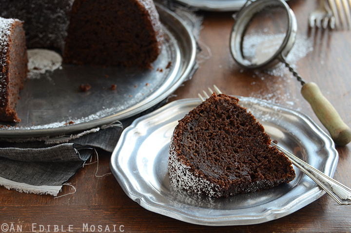 Cinnamon and Orange-Spiced Chocolate Zucchini Cake 6