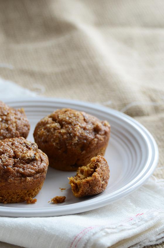 Cinnamon Pecan Pumpkin Muffins