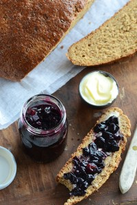 Spiced Blueberry Chutney + The Ploughman's Lunch