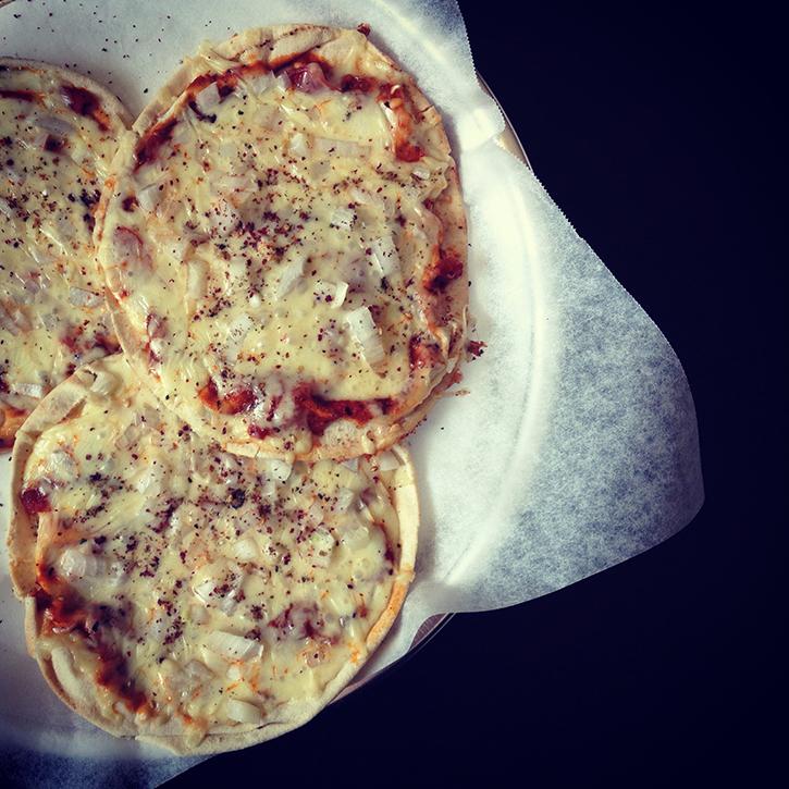Za'atar Spiced Flatbread Pizzas