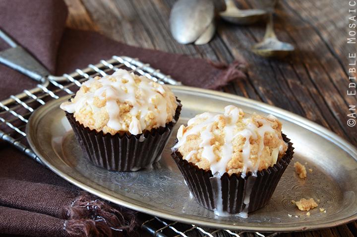 Apple-Almond Streusel Muffins 4