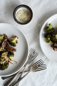 Balsamic-Roasted Broccoli