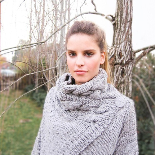 Hand-Knit Cardigan From ovejanegra on Etsy