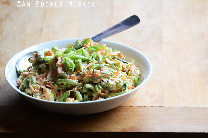 Spicy Blue Cheese Celery Slaw 3
