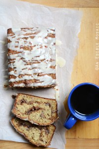 Banana-Sour Cream Coffee Cake with Brown Sugar-Pecan Swirl