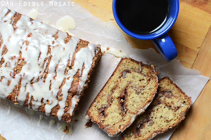 Banana-Sour Cream Coffee Cake with Brown Sugar-Pecan Swirl 3