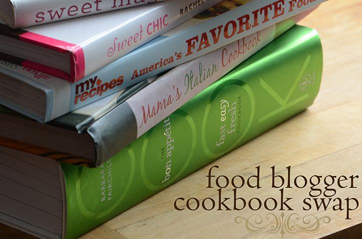 Food Blogger Cookbook Swap