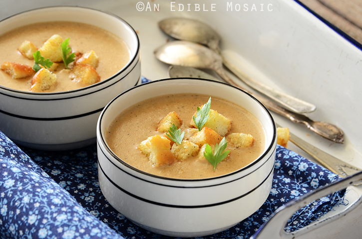 Cream of Caramelized Onion and Cheese Chowder 3