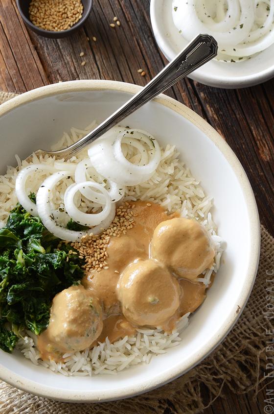 Chicken Satay Meatball Curry 2