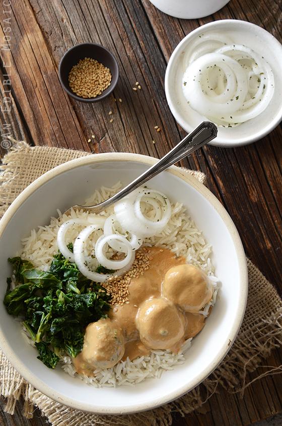 Chicken Satay Meatball Curry