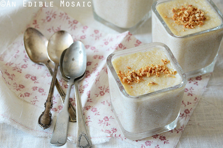 Creamy Almond Brown Rice Pudding 3