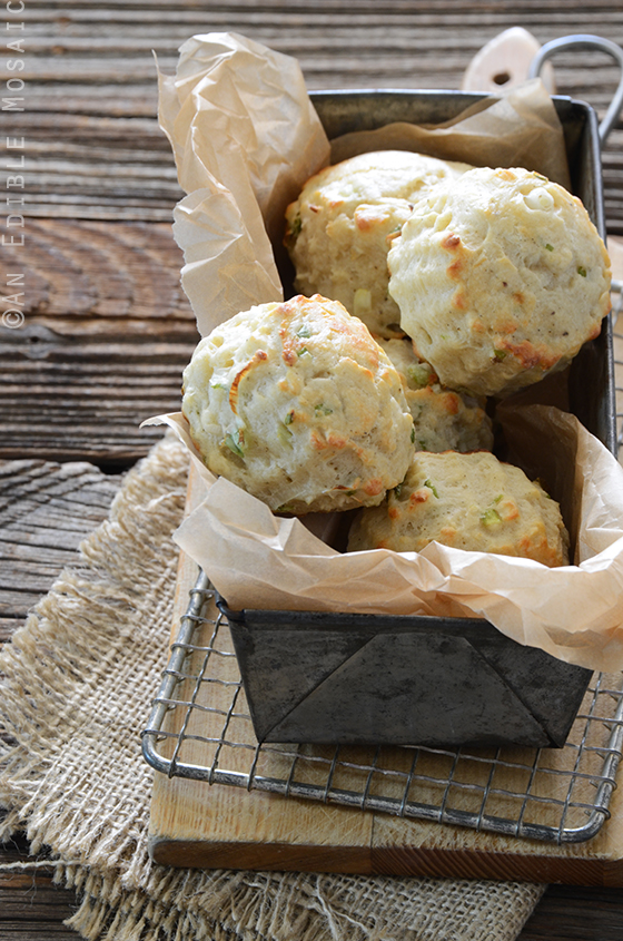 Savory Scallion and Cheese Scones 3