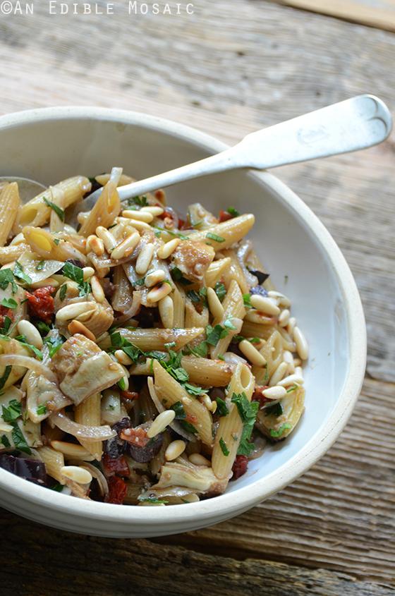 Mediterranean Pasta Salad 2