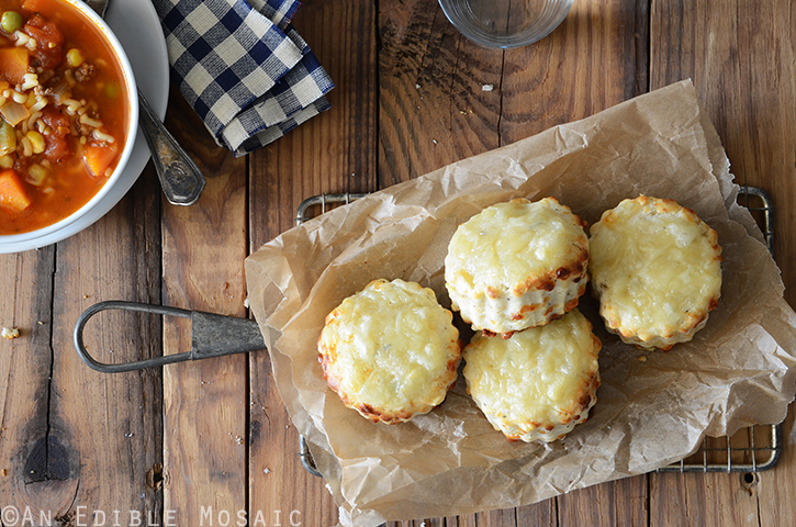 Savory Thyme and Swiss Cheese Scones 4