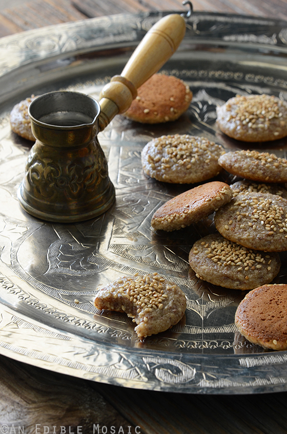 Soft and Chewy Tahini, Honey, and Almond Cookies {Paleo} 3