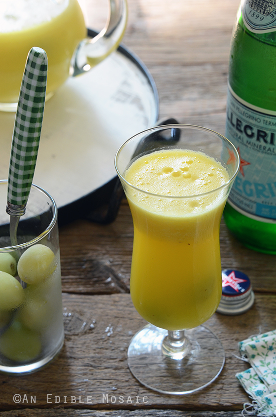 "Sparkling Citrus Pineapple Ginger ""Sangria"" Mocktail"
