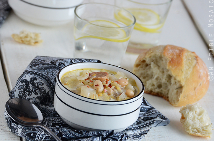 Cabbage, White Bean, and Sausage Soup 4