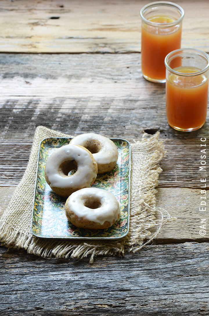Baked Apple Cinnamon Doughnuts with Apple Cider Glaze Recipe 2