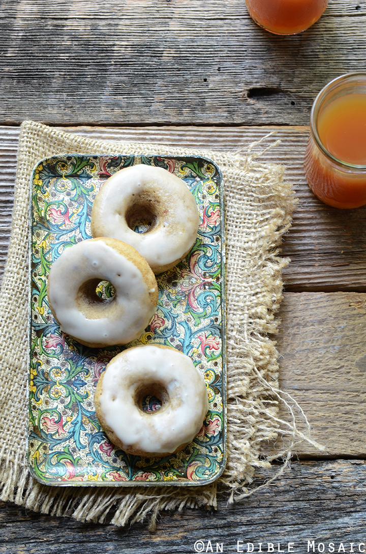 Baked Apple Cinnamon Doughnuts with Apple Cider Glaze Recipe 4