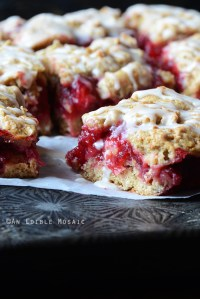 Cranberry-Oat Jam Bars {Crazy for Cranberry}