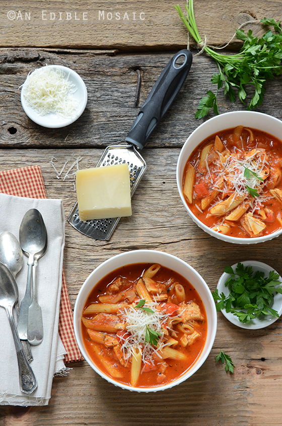 Easy Chicken Parm Soup 2
