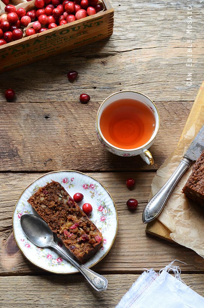 Paleo Cranberry Pecan Loaf 2